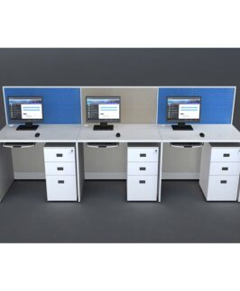 LINEAR WORKSTATION - NON SHARING 1